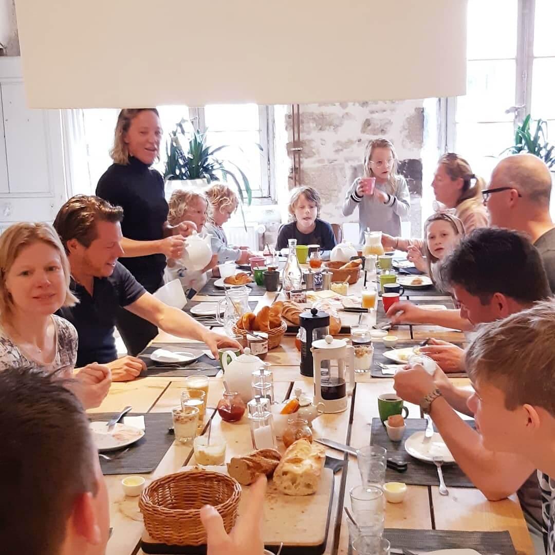 ontbijt-gezinsweek