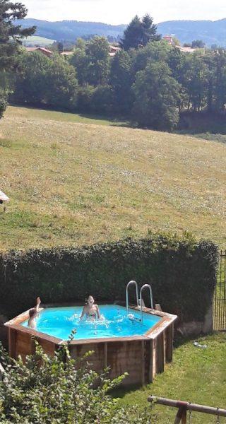 kleinschalige accommodatie met zwembad