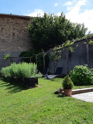 ligbed-tuin