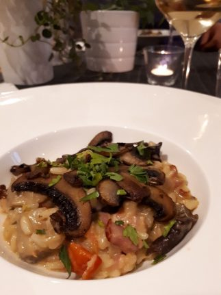risotto diner table d'hote